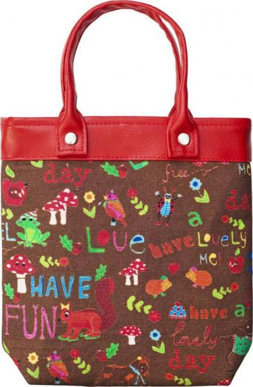 Room Seven Shopper Happy to be me braun