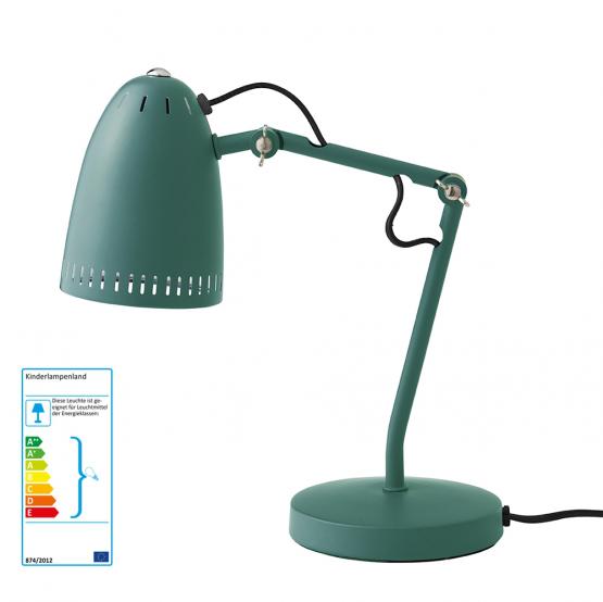 Superliving Schreibtischlampe grün matt