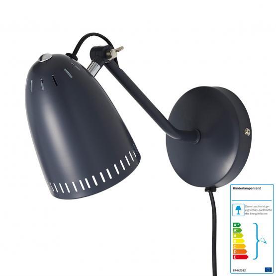 Superliving Wandlampe schwarz/matt