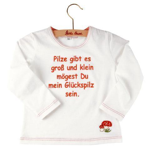 Käthe Kruse T-Shirt Glückspilz Spruch