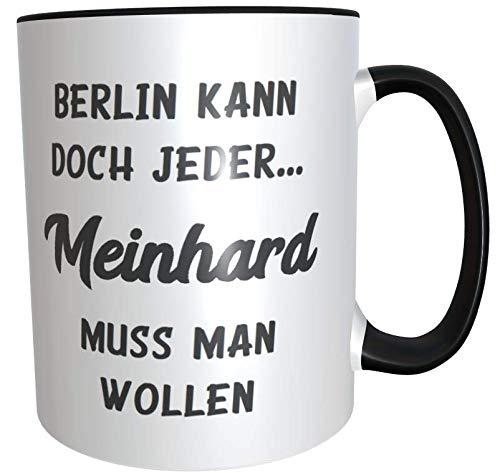 Kilala Büro-Tasse Berlin kann doch jeder... Kaffeetasse, Kaffeebecher,Keramiktasse inkl. Geschenkverpackung