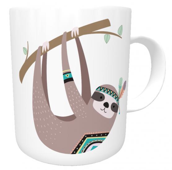 Kaffee-Tasse Faultier