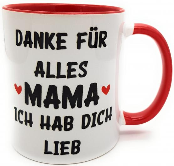 Kilala Tasse Muttertag Danke für alles