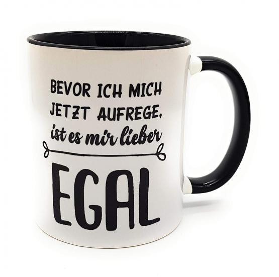 Büro-Tasse lustiger Spruch Egal I Bürotasse I Henkelbecher I Teetasse I