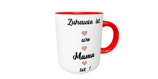 Kilala Tasse Muttertag Zuhause bei Mama