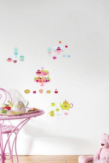 Wandsticker Cupcake