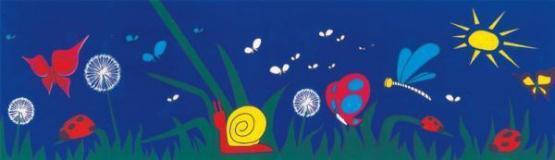 Trousselier Magische Laterne Schmetterling Gehäuse blau