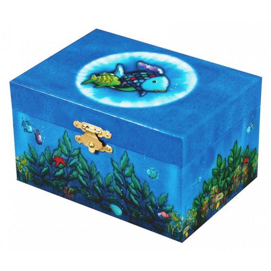 Trousselier Musikspieldose Regenbogenfisch