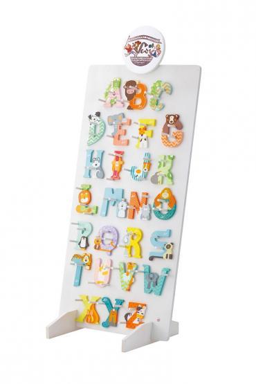 Sevi Holzbuchstaben Tiere Alphabet A-Z 26 Stück