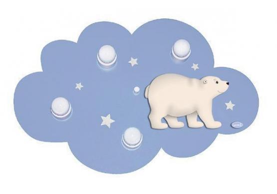 Deckenleuchte Wolke Eisbär