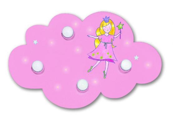 Waldi Deckenleuchte Wolke Prinzessin mit LED Punkten