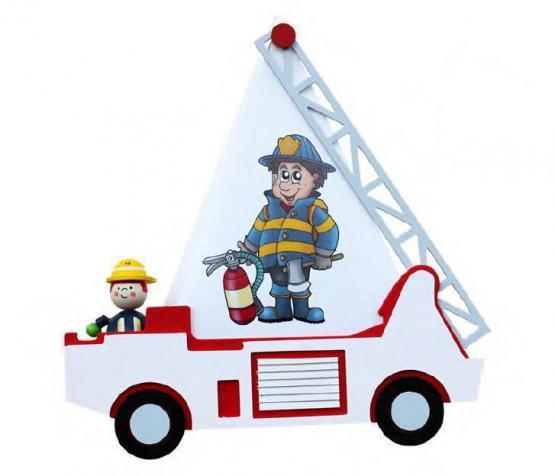 Elobra Wandleuchte Feuerwehr mit Feuerwehrmann