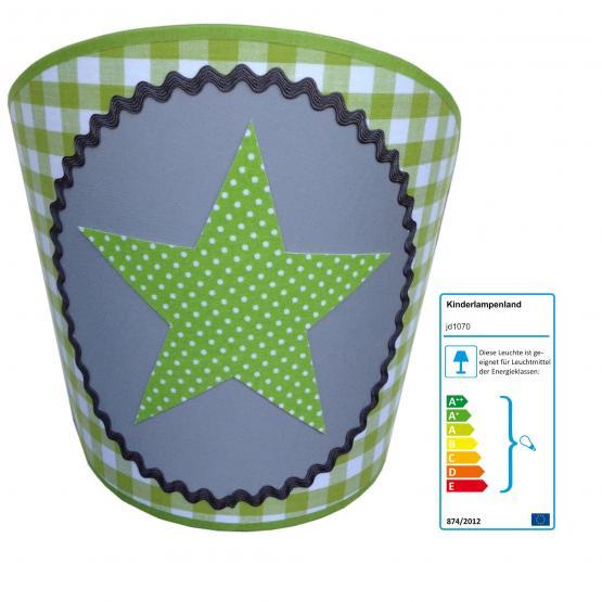 Juuldesign Wandlampe Stern grün