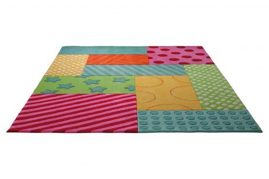 esprit kinderteppich patchwork garden esprit. Black Bedroom Furniture Sets. Home Design Ideas