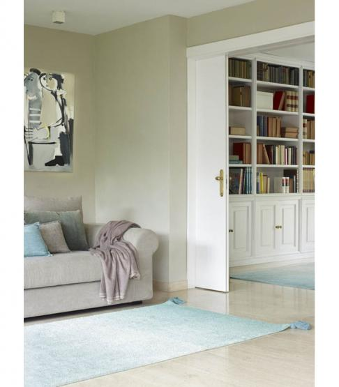 lorena canals teppich farbverlauf gr n hellgrau lorena canals. Black Bedroom Furniture Sets. Home Design Ideas