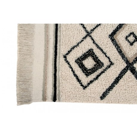 lorena canals teppich bereber beige schwarz lorena canals teppiche. Black Bedroom Furniture Sets. Home Design Ideas