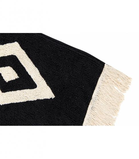 lorena canals teppich diamonds schwarz wei lorena canals teppiche. Black Bedroom Furniture Sets. Home Design Ideas