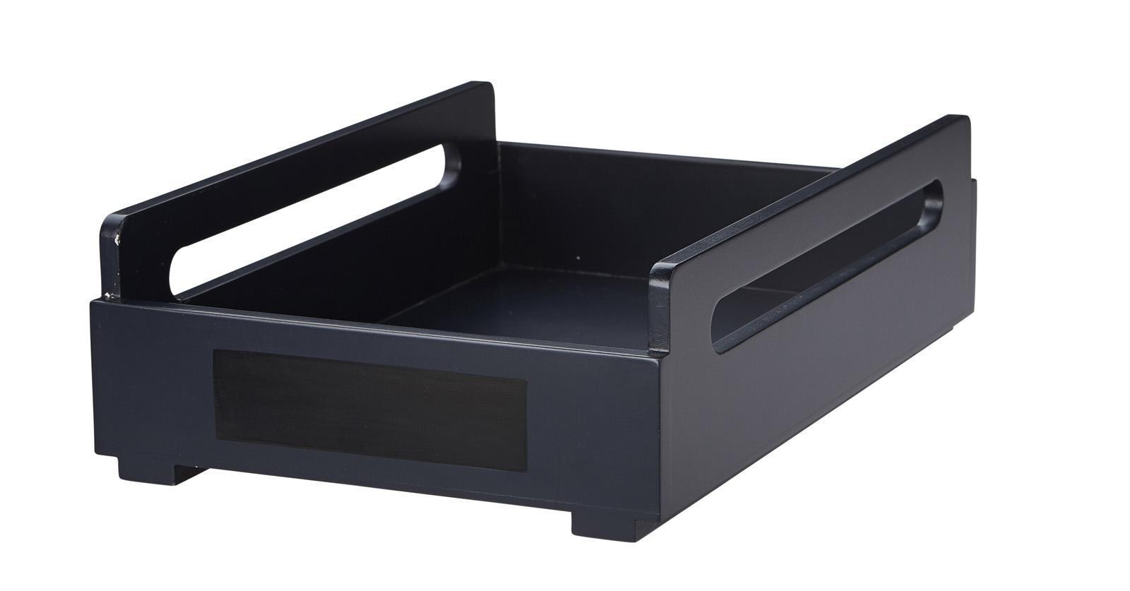 scandic toys holzablagefach schwarz alles f r den schreibtisch im kinderlampenland. Black Bedroom Furniture Sets. Home Design Ideas