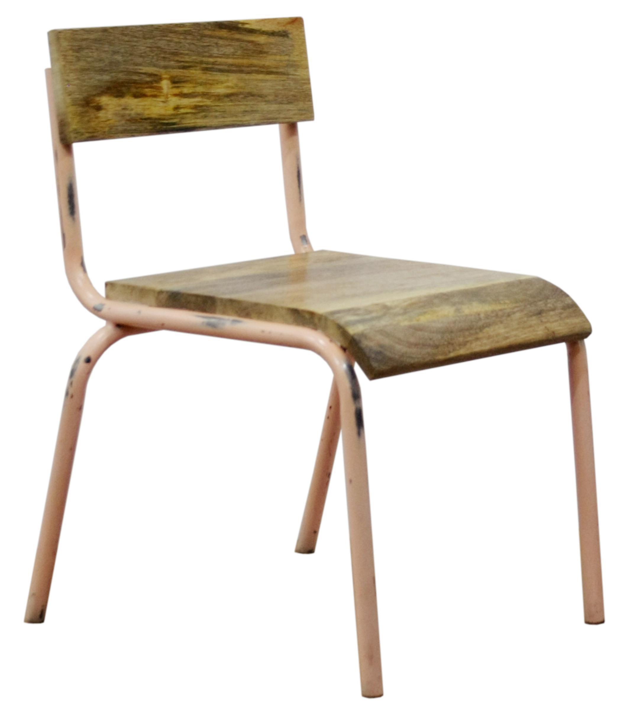 kidsdepot kinderstuhl holz metall altrosa tisch und stuhl im kinderlampenland. Black Bedroom Furniture Sets. Home Design Ideas
