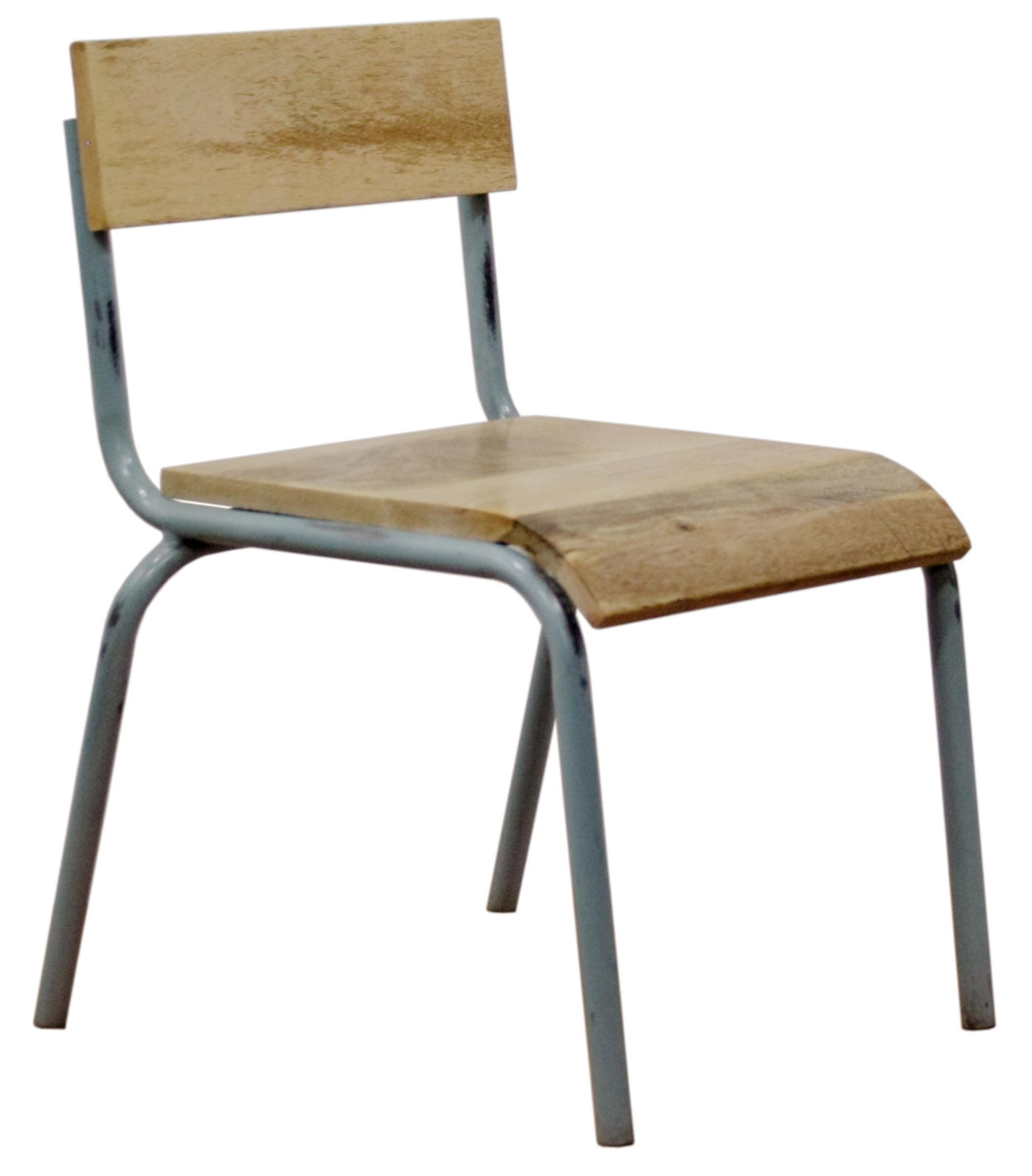kidsdepot kinderstuhl holz metall grau tisch und stuhl im kinderlampenland. Black Bedroom Furniture Sets. Home Design Ideas