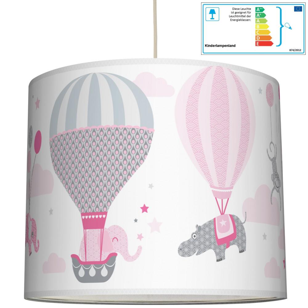 anna wand pendellampe ballons rosa grau pendelleuchten aus holz oder kunststoff. Black Bedroom Furniture Sets. Home Design Ideas