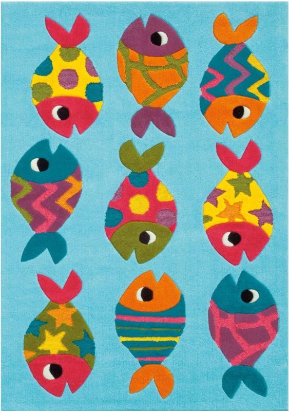 Teppich Kinderzimmer Fische – Quartrucom