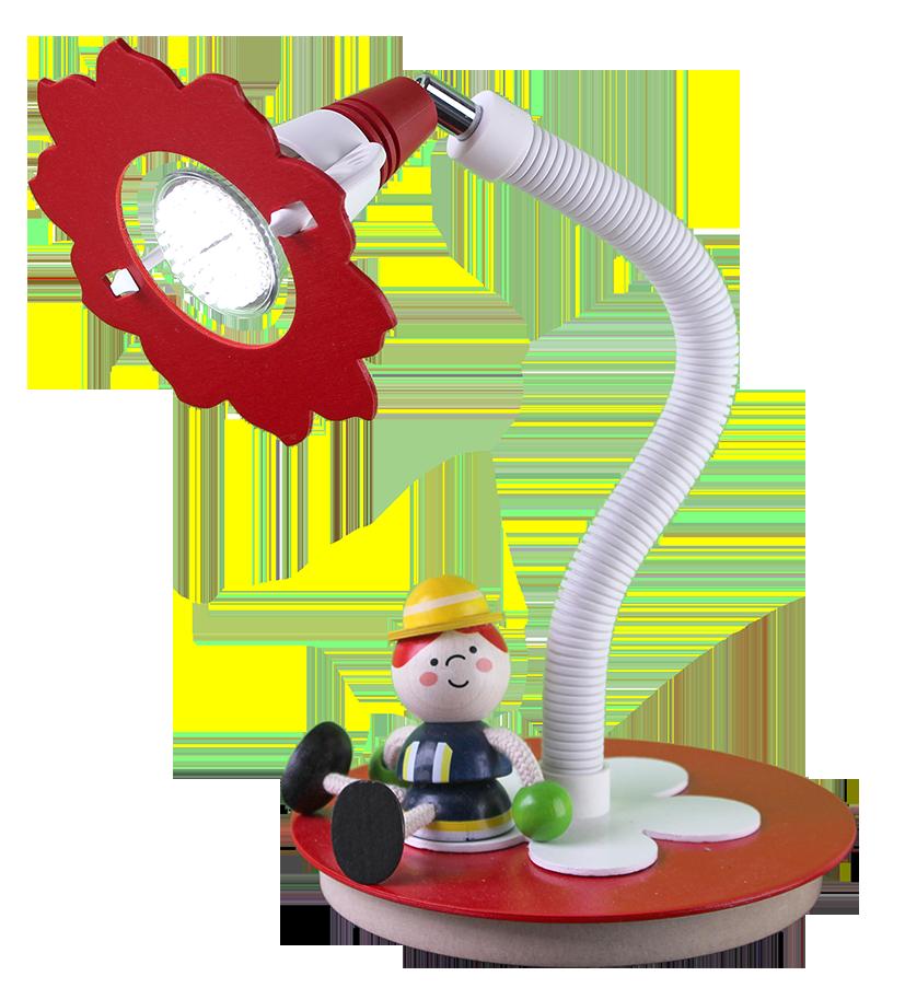 elobra led schreibtischlampe feuerwehrmann tischlampen. Black Bedroom Furniture Sets. Home Design Ideas