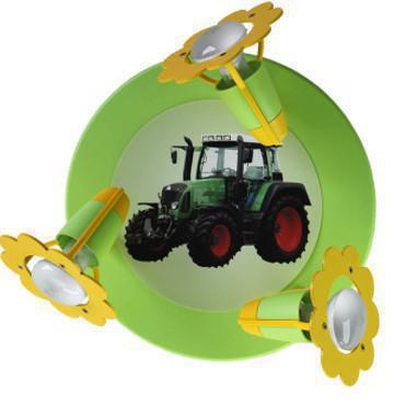 Elobra deckenleuchte traktor strahler kinderlampen for Traktor lampe kinderzimmer