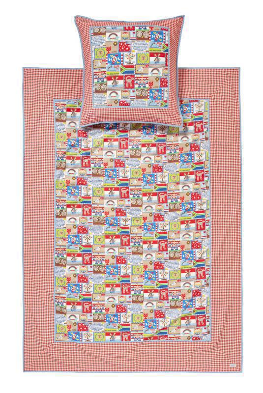 Room Seven Bettwäsche Bunte Welt Kinderbettwäsche 135 X 200