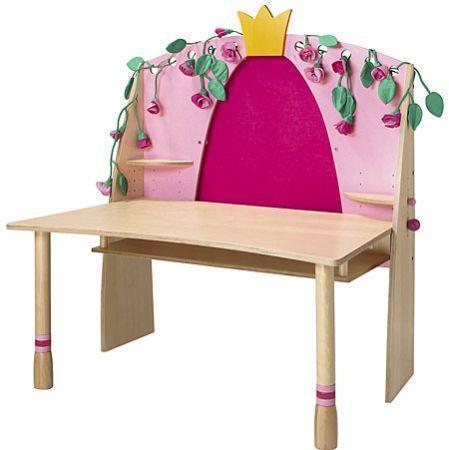 haba schreibtisch dornr schen haba kinderm bel im kinderlampenland kaufen. Black Bedroom Furniture Sets. Home Design Ideas