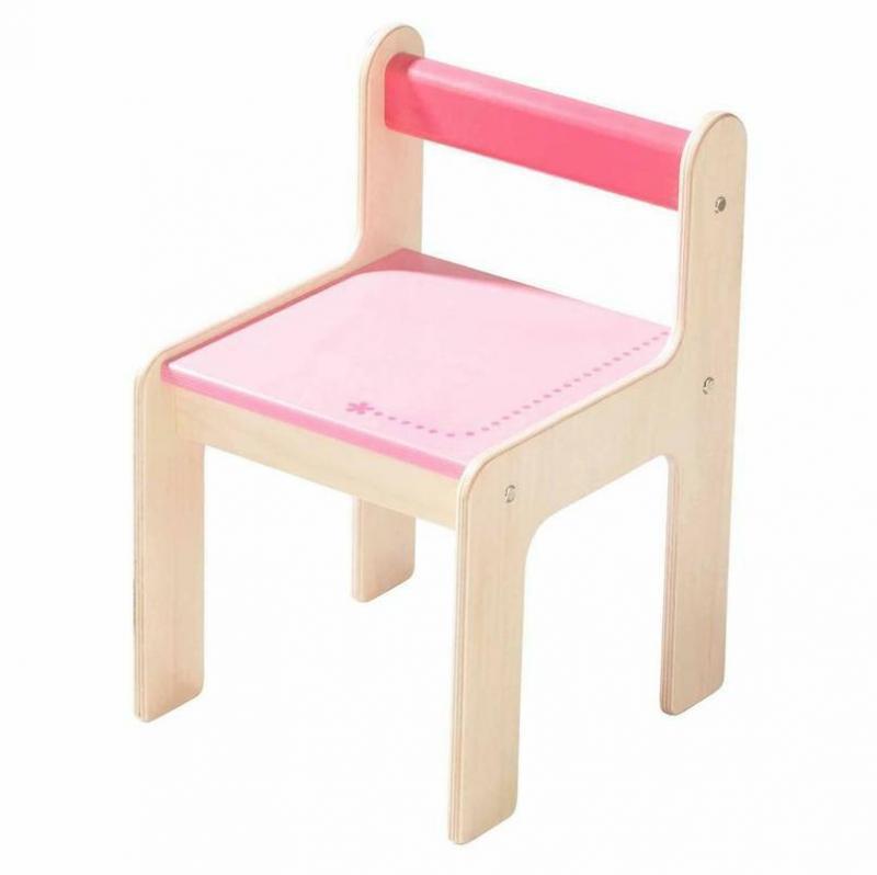 haba kinderstuhl puncto rosa tisch und stuhl im kinderlampenland kaufen. Black Bedroom Furniture Sets. Home Design Ideas