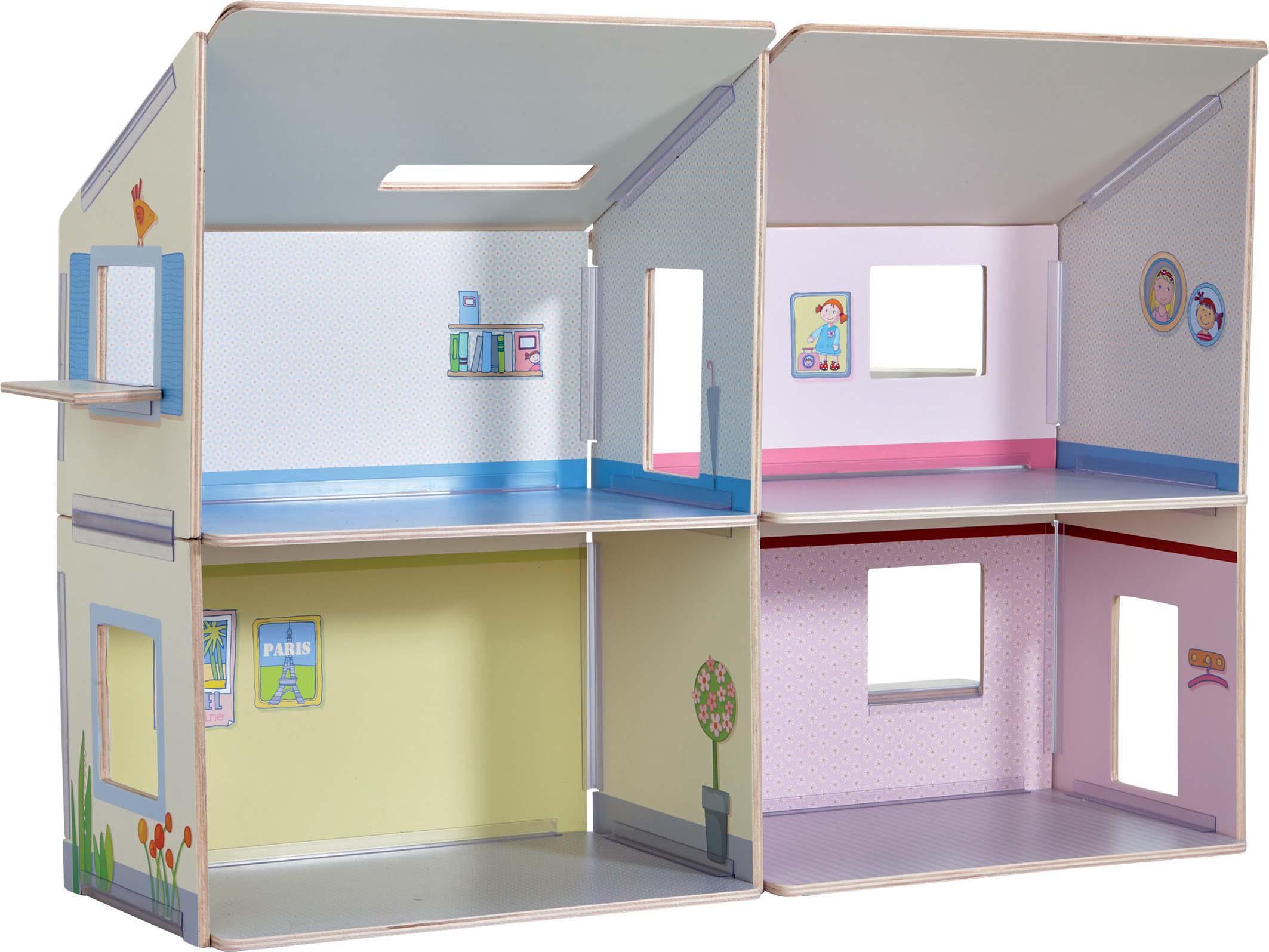 haba puppenhaus villa sonnenschein haba puppenhaus. Black Bedroom Furniture Sets. Home Design Ideas