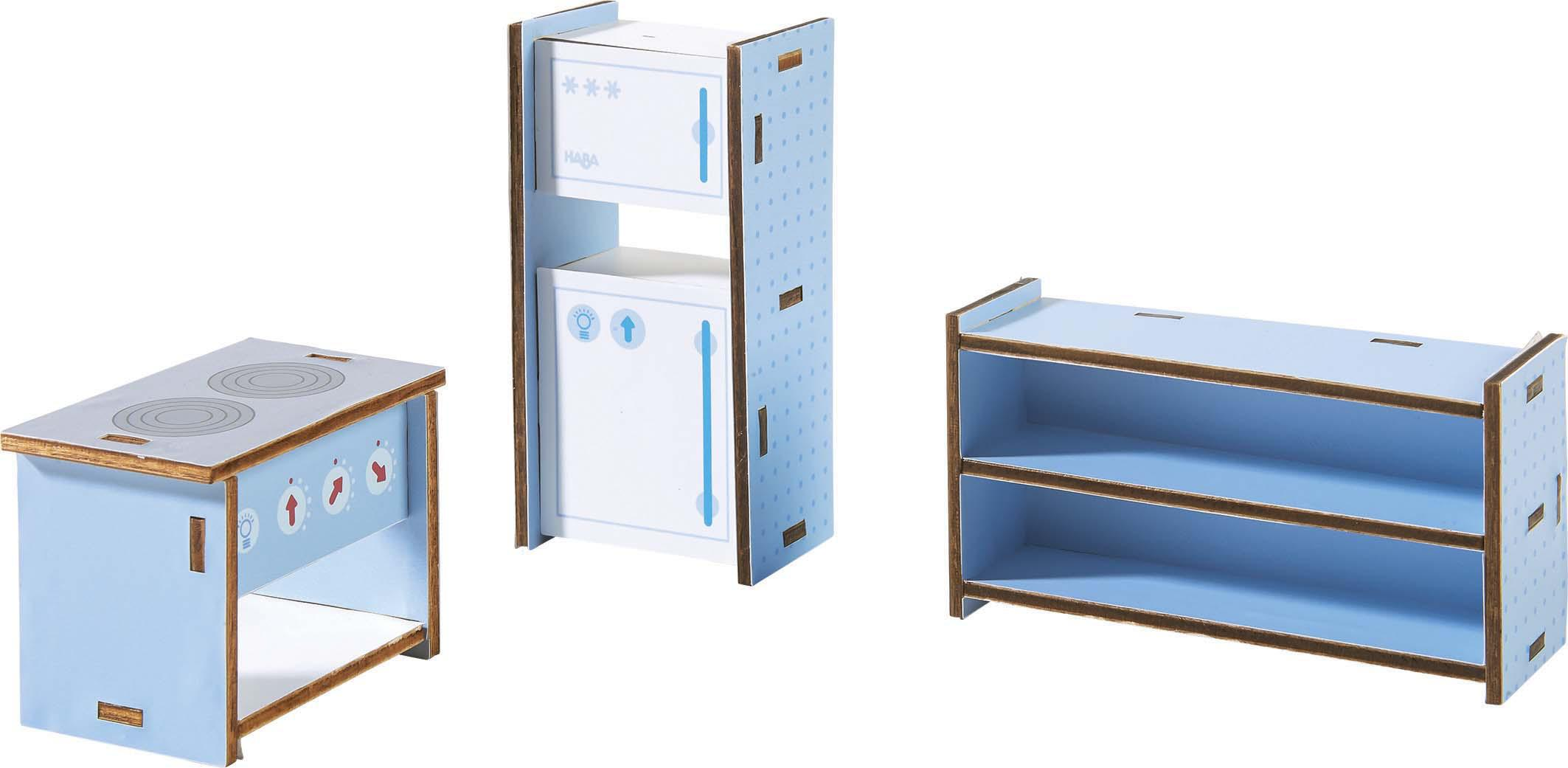 haba puppenhaus m bel k che haba puppenhaus little. Black Bedroom Furniture Sets. Home Design Ideas