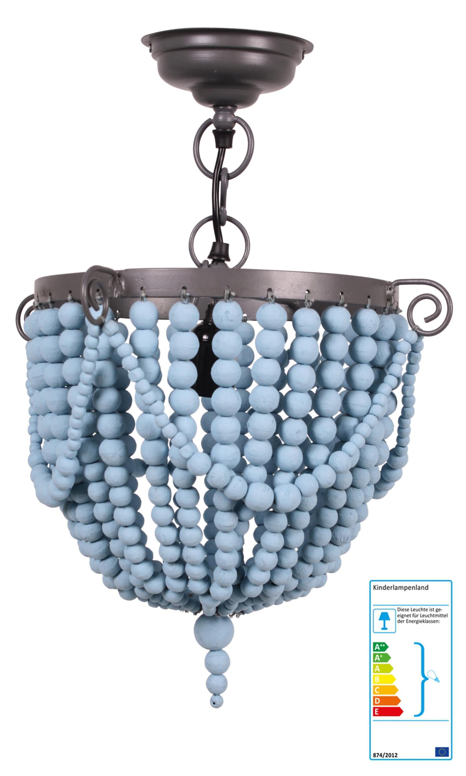 kidsdepot kronleuchter blau pendelleuchten aus holz oder kunststoff im kinderlampenland. Black Bedroom Furniture Sets. Home Design Ideas