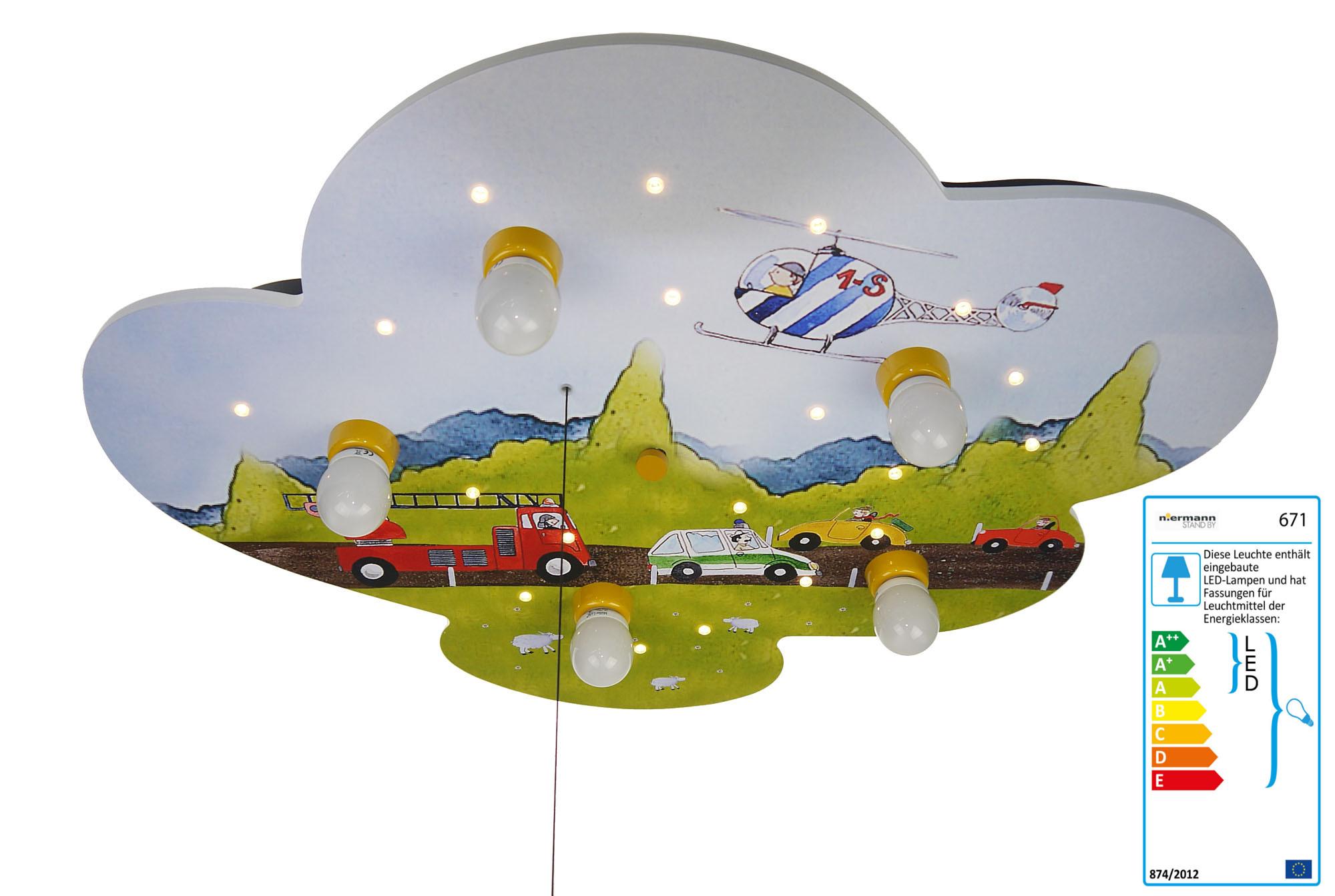LED Kinderlampe Feuerwehrauto Einsatzfahrzeuge | LED-Kinderlampen ...