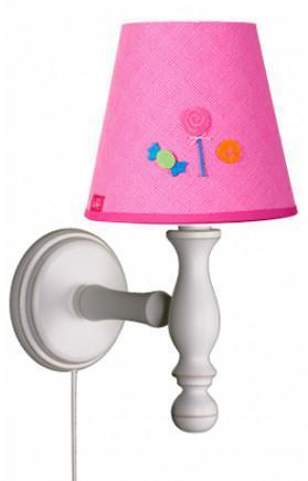 lief lifestyle wandlampe candy rosa wandlampen im kinderlampenland kaufen. Black Bedroom Furniture Sets. Home Design Ideas