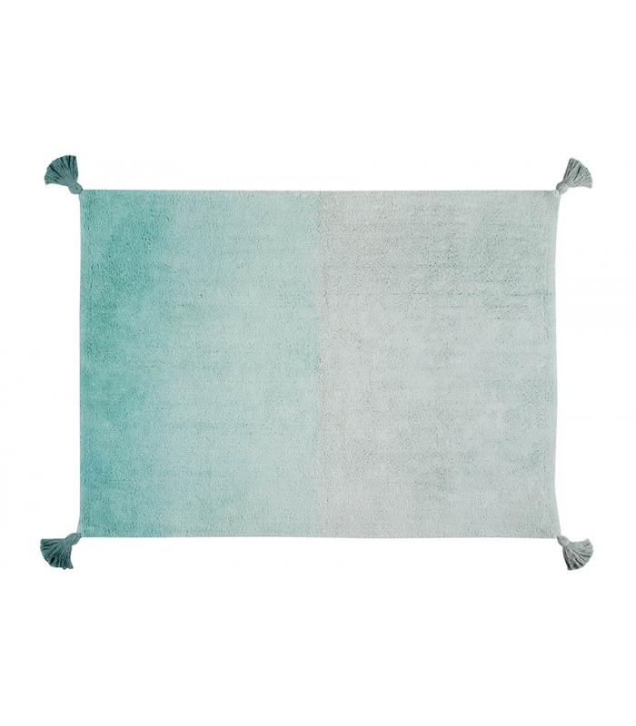 lorena canals teppich farbverlauf gr n hellgrau lorena canals im kinderlampenland. Black Bedroom Furniture Sets. Home Design Ideas