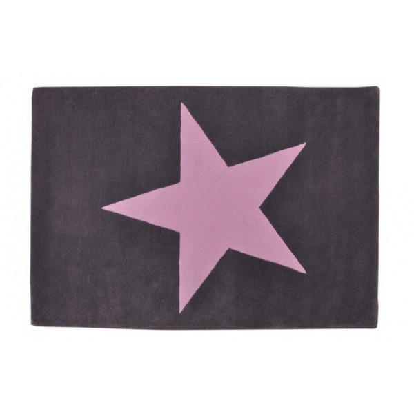 Kinderteppich sterne rosa  Lorena Canals | Teppiche für das Kinderzimmer