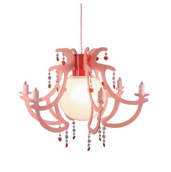 kronleuchter l ster rosata niermann standby im kinderlampenland kaufen. Black Bedroom Furniture Sets. Home Design Ideas