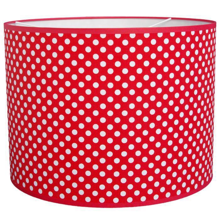 taftan pendelleuchte dots rot pendelleuchten mit stoff. Black Bedroom Furniture Sets. Home Design Ideas