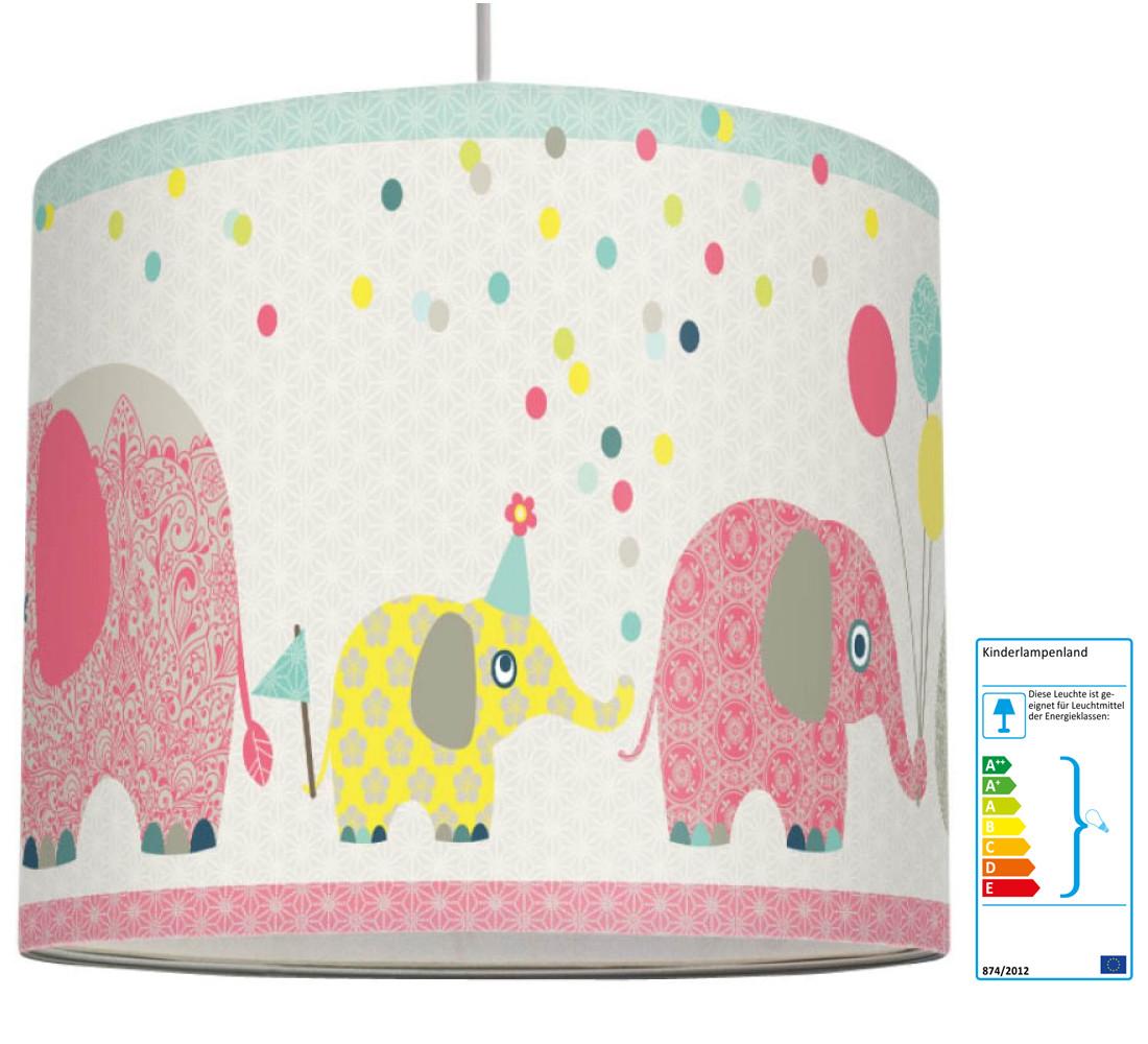 Anna Wand Kinderlampe Elefanten   Pendelleuchten aus Holz oder ...