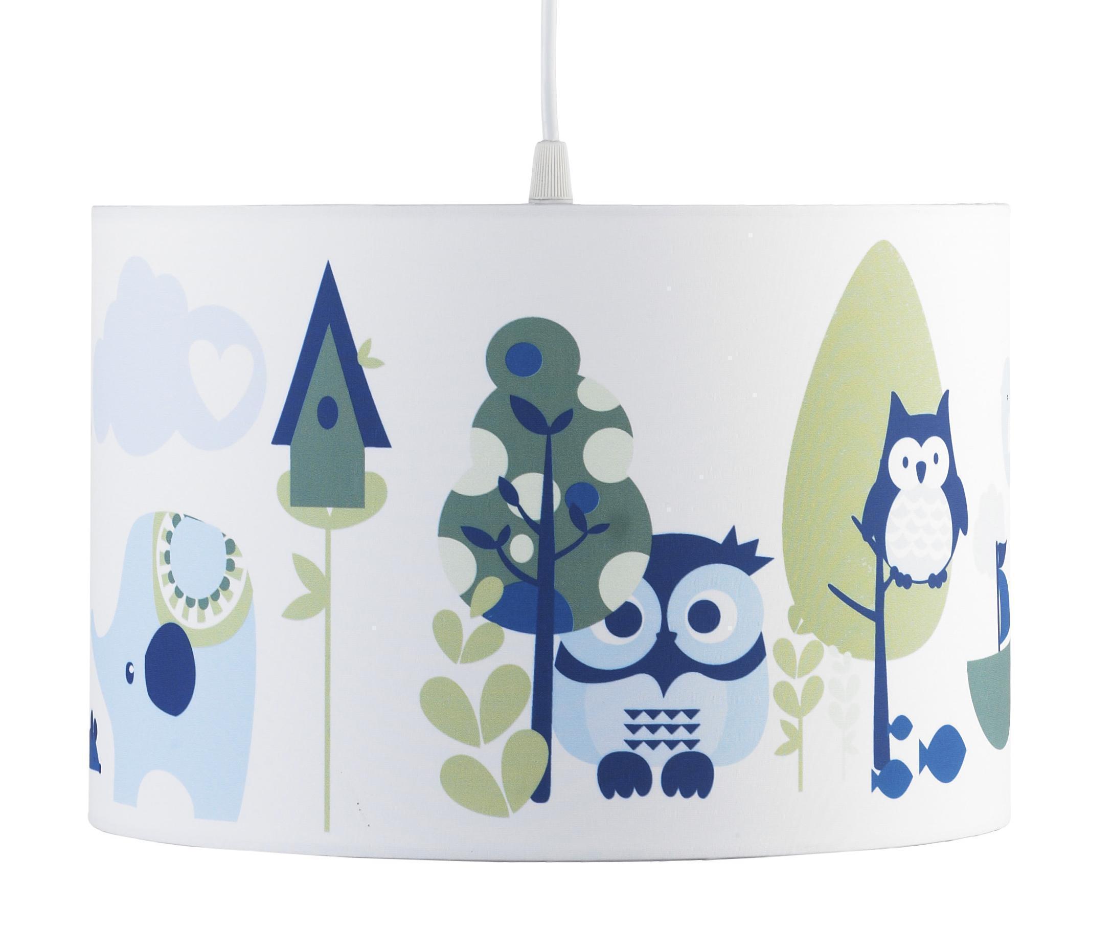 pumpkin pendelleuchte eule deckenlampe blau. Black Bedroom Furniture Sets. Home Design Ideas