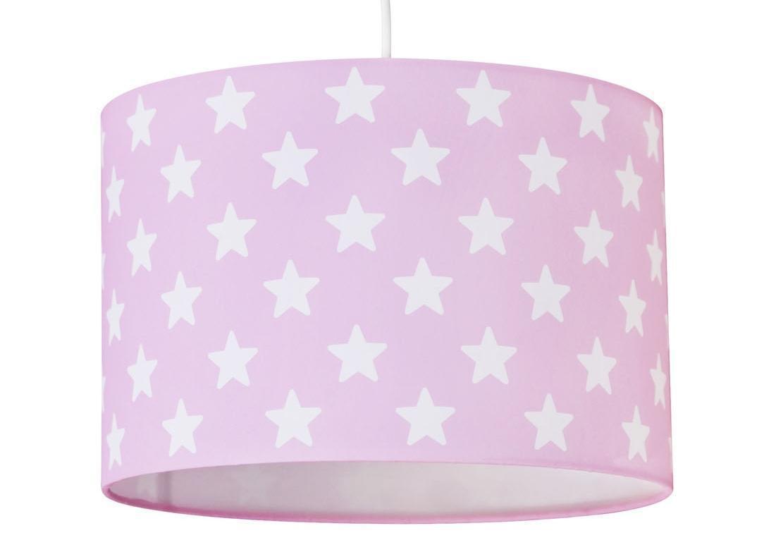 Pendelleuchte mit sternen rosa wei pendelleuchten mit for Sternen lampe kinderzimmer