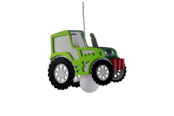 Elobra pendelleuchte traktor pendelleuchten aus holz for Traktor lampe kinderzimmer