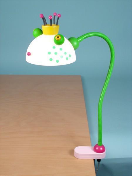 schreibtischlampe froschk nig schreibtischlampen im kinderlampenland kaufen. Black Bedroom Furniture Sets. Home Design Ideas