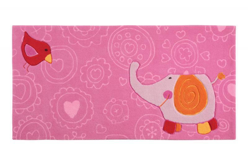Sigikid Teppich Happy Zoo Elefant jetzt günstig beim