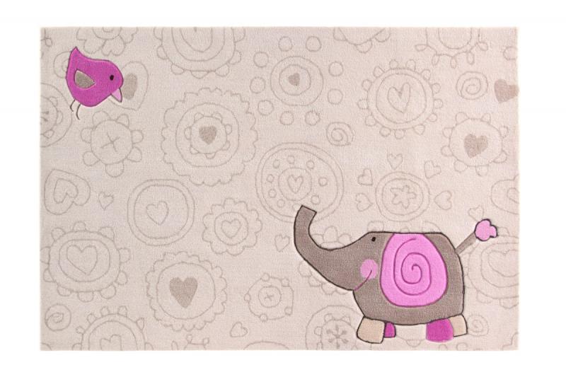 Sigikid Teppich Happy Zoo Elefant  Sigikid Kinderteppiche