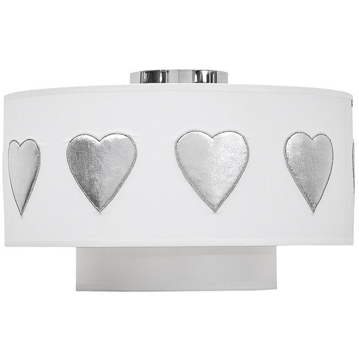 taftan deckenlampe herz silber wei sonstige. Black Bedroom Furniture Sets. Home Design Ideas