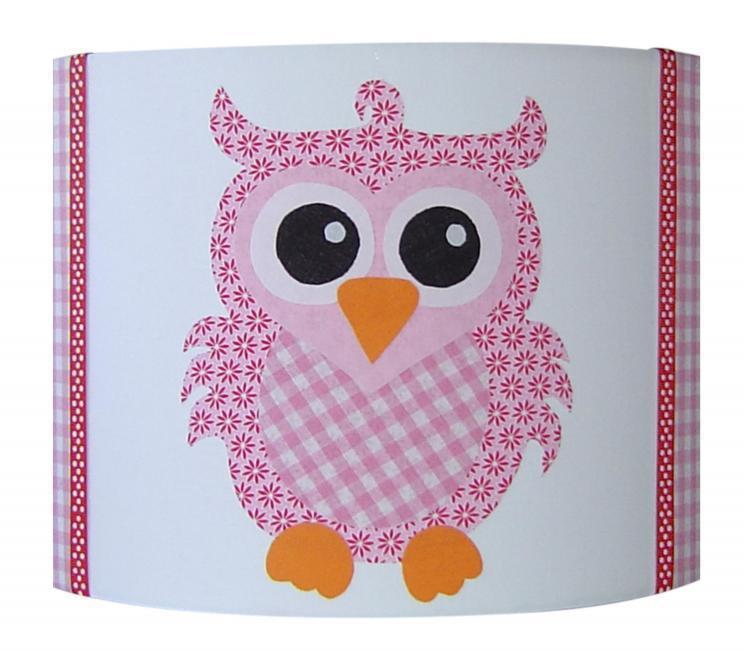 wandlampe eule rosa wandlampen im kinderlampenland kaufen. Black Bedroom Furniture Sets. Home Design Ideas