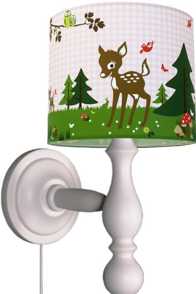 anna wand wandleuchte rehnate friends rosa wandlampen im kinderlampenland. Black Bedroom Furniture Sets. Home Design Ideas